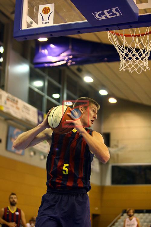 Regal XXXV Llia Nacional Catalana ACB 2014-Semifinals.<br /> FC Barcelona vs La Bruixa d'Or Manresa: 82-66.<br /> Justin Doellman.