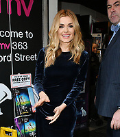 Katherine Jenkins, Welsh lyric mezzo-soprano and classical-crossover singer/songwriter meets fans and signs copies of her new album Guiding Light, at HMV Oxford Street, London on December 05, 2018.<br /> CAP/JOR<br /> &copy;JOR/Capital Pictures