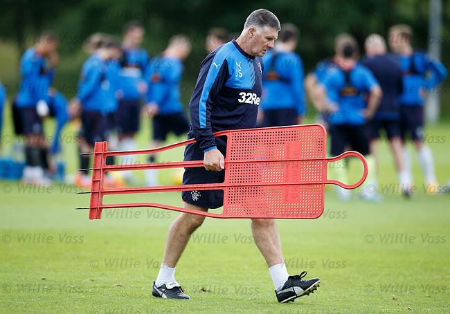 Goalkeeping coach Jim Stewart