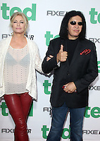 Shannon Tweed and Gene Simmons at the premiere of Universal Pictures' 'Ted' at Grauman's Chinese Theatre on June 21, 2012 in Hollywood, California. &copy;&nbsp;mpi21/MediaPunch Inc. NORTEPHOTO.COM<br />