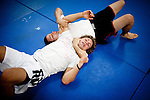 Urijah Faber trains at his gym in Sacramento, Calif., May 4, 2011.
