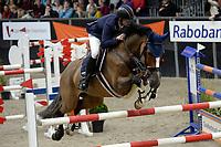 ZUIDBROEK - Paardensport, ICCH Zuidbroek, springen internationaal Grote Prijs , 05-01-2019,  Emiel Richter met Disinaa