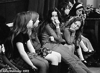 Anna Scher Children's Theatre, East End of London 1972.  Kids would come after school and be expected to work hard.  Occasionally, they would have bits of filming to do for the BBC etc..  Some went on to have careers in the industry and a few became household names: Pauline Quirk, Phil Daniels.