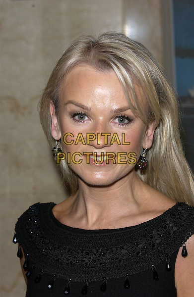 LISA MAXWELL.British Academy Children's Film & Television Awards in Association With The Lego Company, Hilton Hotel, London..November 28th, 2004.Baftas, headshot, portrait, dangling earrings.www.capitalpictures.com.sales@capitalpictures.com.© Capital Pictures.