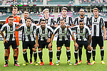 Juventus' players pose for a team picture before the South China vs Juventus match of the AET International Challenge Cup on 30 July 2016 at Hong Kong Stadium, in Hong Kong, China.  Photo by Marcio Machado / Power Sport Images