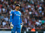 Scott Carson of Derby County during the Championship match at Bramall Lane, Sheffield. Picture date 26th August 2017. Picture credit should read: Simon Bellis/Sportimage