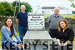 Ballydonoghue Virtual Community Centre: Ann Foley & Collette O'Connor. Back : David Kissane & Jim Finnerty.