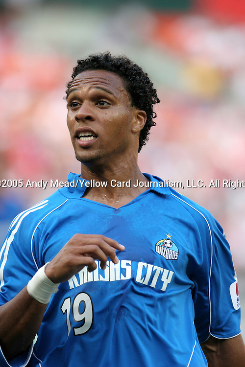 9 July 2005: Scott Sealy. The Kansas City Wizards defeated DC United 1-0 at RFK Stadium in Washington, DC in a regular season Major League Soccer game. .