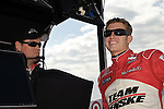 May 30 2009: IndyCar driver Ryan Briscoe before practice for the ABC Supply Company A.J. Foyt 225 at the Milwaukee Mile in West Allis, WI.