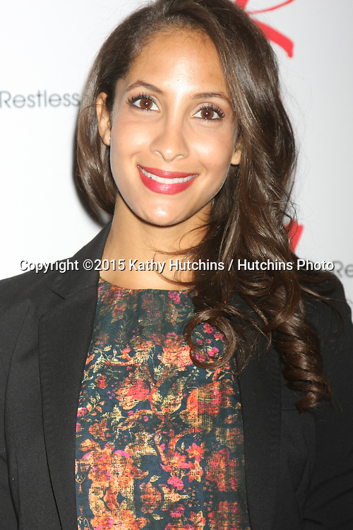 """LOS ANGELES - AUG 15:  Christel Khalil at the """"The Young and The Restless"""" Fan Club Event at the Universal Sheraton Hotel on August 15, 2015 in Universal City, CA"""