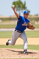 Steve Winnick of the Gulf Coast League Mets during the game against the Gulf Coast League Nationals June 27 2010 at the Washington Nationals complex in Viera, Florida.  Photo By Scott Jontes/Four Seam Images