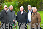 Killorglin Archives was well represented at Patsy Cronin's Funeral from St James Church Killorglin on Monday l-r: Stephen Thompson, Fergus Foley and Joe O'Dwyer ( Kerry Archives Killorglin), John O'Connor and Cllr Donal O'Grady.