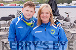 Taking on the 110K is Kate Guerin & her son Michael from Tralee at the Remembering Zoe Cycle Challenge was held last Sunday morning at Fr. Casey's GAA clubhouse Abbeyfeale