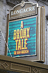 'A Bronx Tale' - Theatre Marquee
