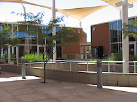 Elle Towne Community Center Facility, Tucson, AZ, 2009. Joy Lyndes, landscape architect.