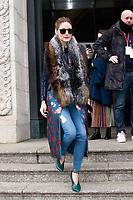 FEB 10 Celebrity Sightings At Carolina Herrera New York Fashion Week 2019