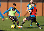 Gedion Zelalem and Andy Halliday