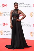 Jaqueline Abrahams<br /> arriving for the BAFTA TV Awards 2018 at the Royal Festival Hall, London<br /> <br /> ©Ash Knotek  D3401  13/05/2018