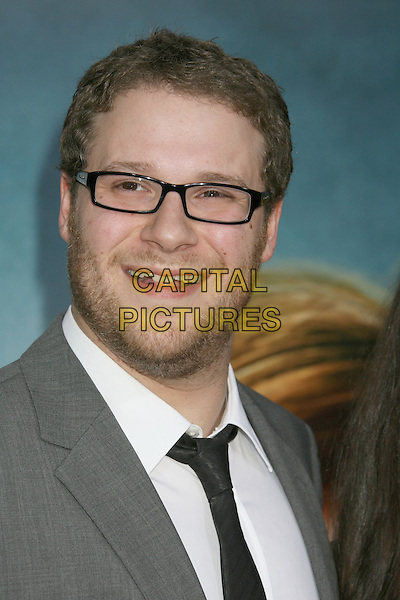 "SETH ROGEN .""Pineapple Express"" Los Angeles Premiere held at Mann's Village Theatre,  Westwood, California, USA, .31 July 2008..portrait headshot  glasses black tie beard .CAP/ADM/MJ.©Michael Jade/Admedia/Capital Pictures"