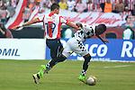 Junior igualó 1-1 en Barranquilla ante Boyacá Chicó. Fecha 14 de la Liga Águila I-2016. En el previo del partido se realizó un homenaje al periodista deportivo Édgar Perea, esparciendo sus cenizas en la grama del estadio Metropolitano.