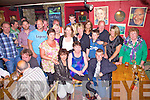 'Welcome to the Club', Mags Golden celebrated her 40th birthday in The Anchor Bar Cahersiveen on Saturday, Mags pictured here seated centre with family and friends.