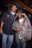 New York City<br /> 2003 <br /> ALLAN HOUSTON AND  DAVE CHAPELLE<br /> Photo By John Barrett-PHOTOlink.net/MediaPunch