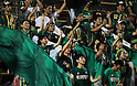 FCFC Gifu fans,.AUGUST 12, 2012 - Football / Soccer :.2012 J.League Division 2 match between Thespa Kusatsu 1-1 FC Gifu at Kumagaya Athletic Stadium in Saitama, Japan. (Photo by Hiroyuki Sato/AFLO)