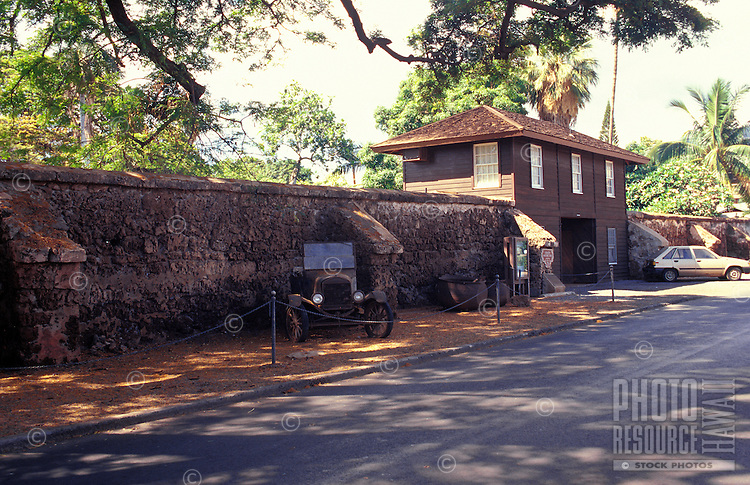 The Old Prison, an 1800s structure also called Hale Paahao (stuck-in-irons house)