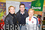 Nicola Duggans, Sneem, Ger Greaney,Listowel and Joan Curtin, Tralee at the National Ploughing Championship in Wexford last Tuesday.