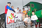 Listowel Marketing Group who launched their Love Listowel campaign last Sunday at the Lartigue Railway in Sunday. Pictured l-r was John McConnell, Mayor Tom Barry, Menno Roos, Town Clerk Daniel O'Brien, Station Master Martin Griffin, Caitlin Roos, Brian and Robbie Scanlon and Liam Roos.