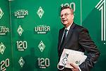 04.02.2019, Dorint Park Hotel Bremen, Bremen, GER, 1.FBL, 120 Jahre SV Werder Bremen - Gala-Dinner<br /> <br /> im Bild <br /> Reinhard Grindel (DFB-Präsident), <br /> <br /> Der Fussballverein SV Werder Bremen feiert am heutigen 04. Februar 2019 sein 120-jähriges Bestehen. Im Park Hotel Bremen findet anläßlich des Jubiläums ein Galadinner statt. <br /> <br /> Foto © nordphoto / Ewert