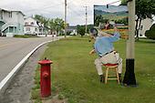 June 22, 2004<br /> St Ir&eacute;n&eacute;e, Canada<br /> <br /> An artist display.
