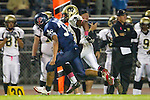 Lawndale, CA 10/21/11 - Okuoma Idah (Peninsula #24) and Ramajae Williams (Leuzinger #33) in action during the Peninsula - Leuzinger varsity football game.