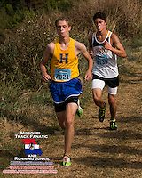 Francis Howell senior Gavin Galanes 7th, 2013 Parkway West Cross Country Invitational.