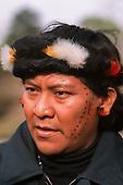 London, England. Davi Kopenawa Yanomami.