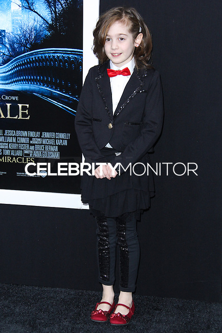 "NEW YORK, NY - FEBRUARY 11: Ripley Sobo at the World Premiere Of Warner Bros. Pictures' ""Winter's Tale"" held at Ziegfeld Theatre on February 11, 2014 in New York City. (Photo by Jeffery Duran/Celebrity Monitor)"