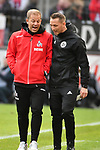 01.12.2018, RheinEnergieStadion, Koeln, GER, 2. FBL, 1.FC Koeln vs. SpVgg Greuther Fürth,<br />  <br /> DFL regulations prohibit any use of photographs as image sequences and/or quasi-video<br /> <br /> im Bild / picture shows: <br />  Markus Anfang Trainer, Headcoach (1.FC Koeln), bveraet sich <br /> <br /> Foto © nordphoto / Meuter
