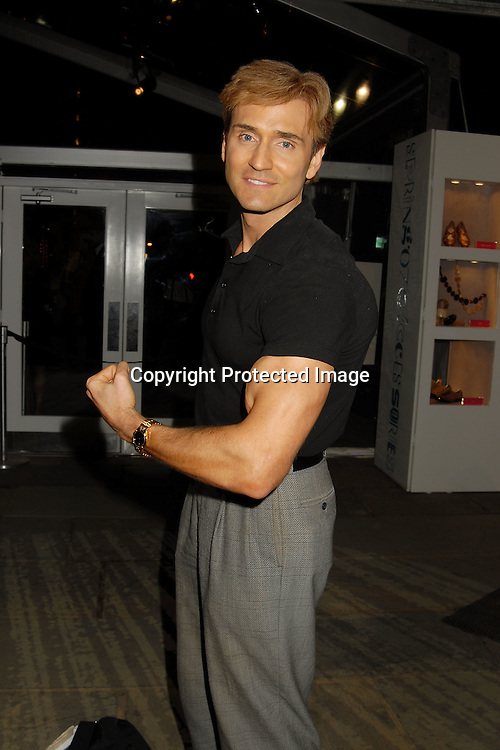 John Basedow..arriving for the Baby Phat Spring 2007 Fashion Show on ..September 8, 2006 at The Olympus Fashion Shows in Bryant Park. ..Robin Platzer, Twin Images