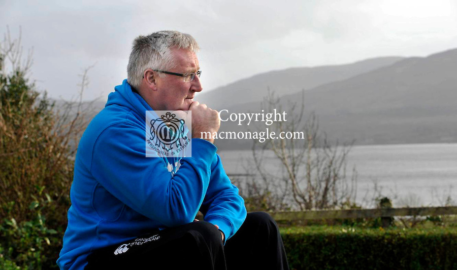 Pat Spillane picture at home in Templenoe, County Kerry/.Picture by Don MacMonagle