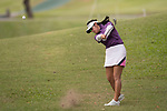 Golfer Michele Low of Malaysia during the 2017 Hong Kong Ladies Open on June 10, 2017 in Hong Kong, China. Photo by Marcio Rodrigo Machado / Power Sport Images