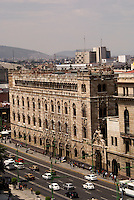 The Palacio Postal or post office in downtown Mexico City. This building also houses the Postal Museum.
