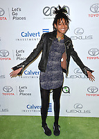 BURBANK, CA. October 22, 2016: Willow Smith at the 26th Annual Environmental Media Awards at Warner Bros. Studios, Burbank.<br /> Picture: Paul Smith/Featureflash/SilverHub 0208 004 5359/ 07711 972644 Editors@silverhubmedia.com
