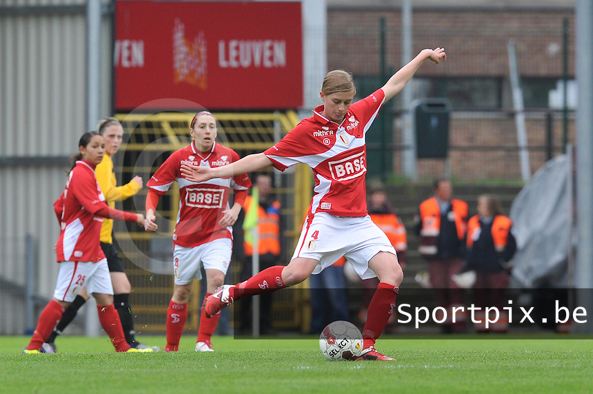 Bekerfinale 2012 : WD Lierse SK - Standard Femina :.Julie Biesmans.foto David Catry / Joke Vuylsteke / Vrouwenteam.be