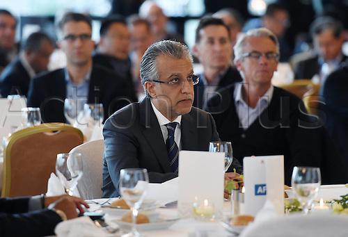 25.02.2016. Zurich, Switzerland. Fifa AFC Confederation luncheon at the Marriott hotel.  AFC President Scheich Salman Bin Ibrahim al-Khalifa (Bahrain)