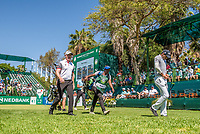 Richard McEvoy (ENG) Aaron Rai (ENG) during the 2nd round at the Nedbank Golf Challenge hosted by Gary Player,  Gary Player country Club, Sun City, Rustenburg, South Africa. 09/11/2018 <br /> Picture: Golffile | Tyrone Winfield<br /> <br /> <br /> All photo usage must carry mandatory copyright credit (&copy; Golffile | Tyrone Winfield)