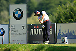 Gregory Molteni (ITA) tees off on the 7th tee during Day 2 of the BMW Italian Open at Royal Park I Roveri, Turin, Italy, 10th June 2011 (Photo Eoin Clarke/Golffile 2011)