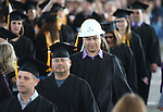Bachelor of Technology students enter the pavillion for the 45th annual Western Nevada College Commencement ceremony in Carson City, Nev., on Monday, May 23, 2016. A record 556 graduates received 598 degrees.<br />