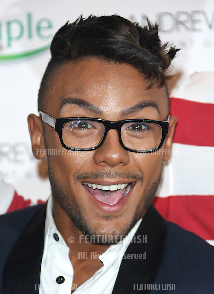 Marcus Collins arriving for the Specsavers Spectacle Wearer of the Year 2012 held at Battersea Power Station, London. 30/10/2012 Picture by: Henry Harris / Featureflash
