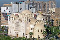 Aegypten Kairo Cairo , Kathedrale in Heliopolis / Egypt Cairo, cathedral in Heliopolis