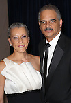 Eric Holder & wife Sharon Malone  attending the  2013 White House Correspondents' Association Dinner at the Washington Hilton Hotel in Washington, DC on 4/27/2013
